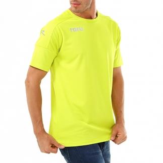 RARU - Raru Erkek Basic T-Shirt GRILL YEŞİL