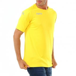 RARU - Raru Erkek Basic T-Shirt GRILLUS SARI