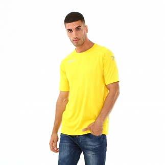 RARU - Raru Erkek Basic T-Shirt GRILLUS SARI (1)