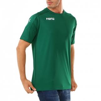 RARU - Raru Erkek Basic T-Shirt GRILLUS YEŞİL