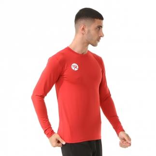 RARU - Raru Erkek Uzun Kollu T-Shirt VIVUS KIRMIZI (1)