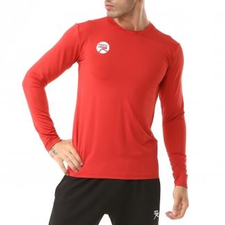 RARU - Raru Erkek Uzun Kollu T-Shirt VIVUS KIRMIZI