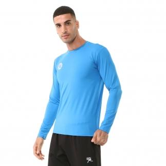 RARU - Raru Erkek Uzun Kollu T-Shirt VIVUS MAVİ (1)