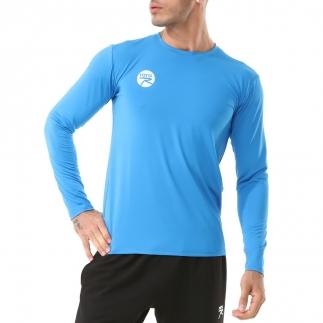 RARU - Raru Erkek Uzun Kollu T-Shirt VIVUS MAVİ