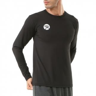 RARU - Raru Erkek Uzun Kollu T-Shirt VIVUS SİYAH