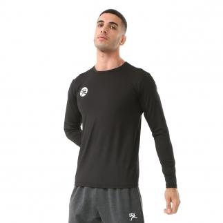 RARU - Raru Erkek Uzun Kollu T-Shirt VIVUS SİYAH (1)