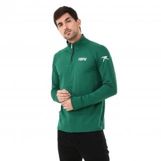 RARU - Raru Erkek Yarım Fermuarlı Sweatshirt VITA YEŞİL (1)